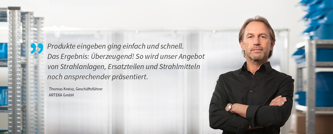 Thomas Kreisz, Geschäftsführer - ARTEKA GmbH