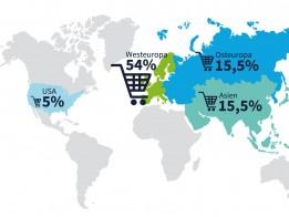 Westeuropa klarer Favorit für Einkäufer von Schweizer Unternehmen